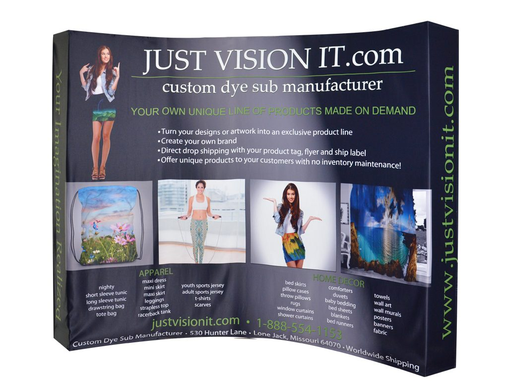 Tradeshow Booth - Just Vision It